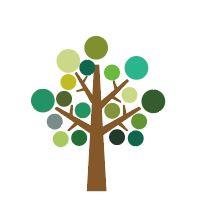 ともがきイラストの木